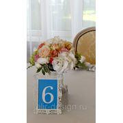 Букет на стол гостей фото