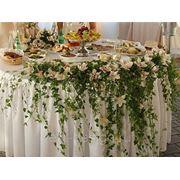 Цветы на круглый стол молодых фото