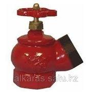 Вентиль пожарный угловой (чугун) фото