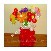 Вазочка с цветами фото