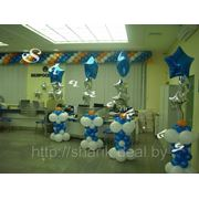 Стойки с фольгированными шарами Арт. 277 фото