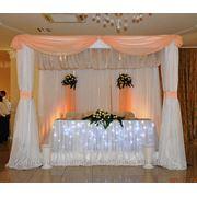 Свадебное оформление персиковое фото