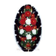 Ритуальные венки из искусственных цветов фото