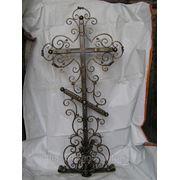 Крест кованный фото