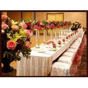 Украшение залов цветами Запорожье фото