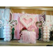 Оформление воздушными шарами свадеб Белая церковь