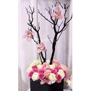 Свадебное оформление цветами, флористика, букеты невесты, бутоньерки, композиции на стол