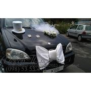 Оригинальное украшение свадебных машин фото