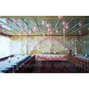 Оформление свадьбы днепропетровск, шарики на свадьбу фото