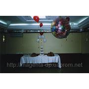 Шар сюрприз, оформление свадьбы шариками