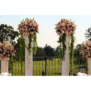 Прокат свадебного декора, арки, стойки с подсветкой, колонны, вазы, мартинницы