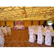 Оформление зала в сиреневом цвете фото