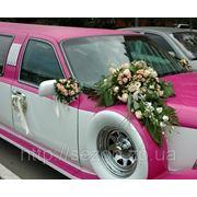 Украшение свадебного авто Запорожье фото
