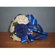 Свадебные букеты из бисера фото