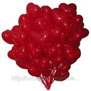 Шарики Киев! Очень эффектный Шар латексный «красное сердце»,30 см . фото