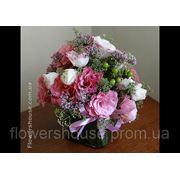 Оформление свадьбы цветами. Розовая свадьба. Киев фото