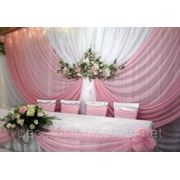 Укаршение свадебного стола, ширма на свадьбу, композиция из цветов на свадебный стол,свадебный букет