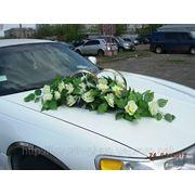 Украшения на свадебный Лимузин фото