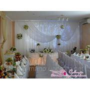 Свадебное оформление, украшение зала фото