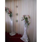 Свадебные цветочные стойки (продажа и прокат) фото