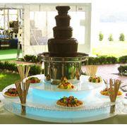 Шоколадные фонтаны в аренду фото