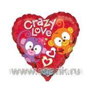 Поющий шар «Crazy Love», надутый гелием. фото