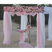 Оформление цветами свадеб и торжеств. фото