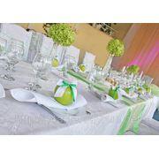 Салатовая свадьба, ресторан «Млын» фото