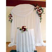 Арки из ткани на свадьбу Луганск фото