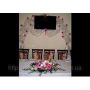 Свадебный декор зала фото
