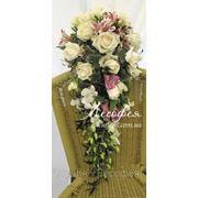 Каскадный букет невесты фото
