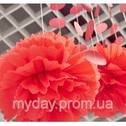 Подвесные шары (помпоны) фото