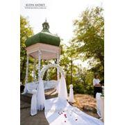 Оформление выездных, свадебных церемоний, банкетных залов фото