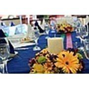 Украшение столов гостей фото