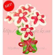 Букеты цветов из воздушных шаров фотография