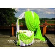 Свадебная арка в садовом стиле фото