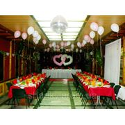 Оформление свадьбы воздушными шарами фото