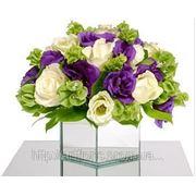 Украшение зала цветами, цветы на столы, композиции на свадебный стол Цветочное оформление свадеб и праздников в европейской аранжировке фото