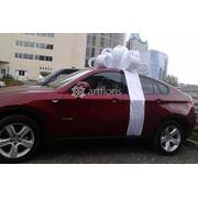 Купить бант на машину, украшение машины большим бантом, подарочный бант для авто в любой цветовой гамме фото