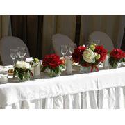 Оформление цветами свадьбы, Цветочное оформление праздников фото