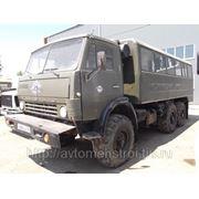 Аренда автобуса КАМАЗ 4310 (вездеход) фото