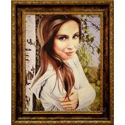 Портрет девушки в подарок фото