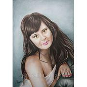 Видеоролик процесса рисования Вашего портрета. фото