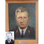 Портрет на заказ по фотографии, мужской портрет маслом фото