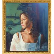 Портрет актрисы Татьяны Друбич маслом по фото фото