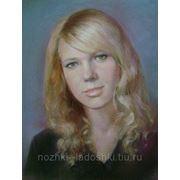 Портрет цветной пастель, масло с фотографии от А3 до А1 фото