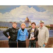 Семейный портрет к юбилею фото