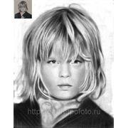 Портрет мальчика с фотографии, заказ портрета ребенка фото