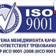 Сертификат ИСО ГОСТ Р ISO 9001 фото
