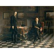 Картина Петр 1 допрашиваеи царевича Алексея Петровича в Петергофе фото